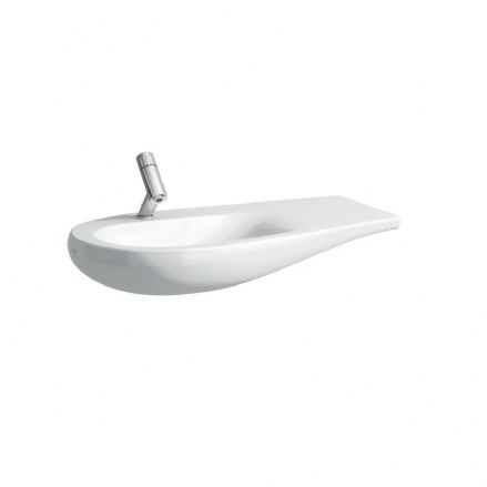 814975 - Laufen Alessi One 900mm x 500mm Washbasin (Right Shelf) - 8.1497.5